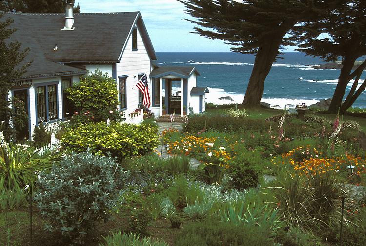 View from Agate Cove Inn, Mendocino, California
