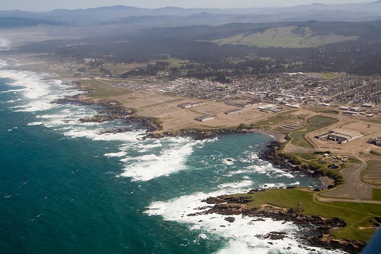 Aerial Photographs of the Mendocino Coast